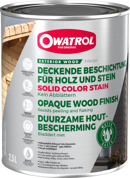 OWATROL SOLID COLOR STAIN