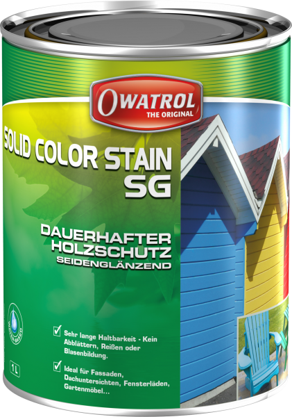 OWATROL SOLID COLOR SG - Deckweiss
